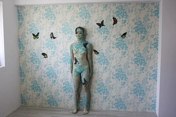 人體彩繪作品