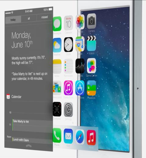iOS 7 Layer