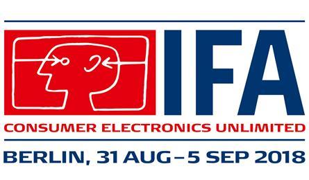 2018 IFA 柏林消費性電子展