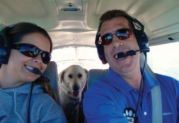 飛行員和狗