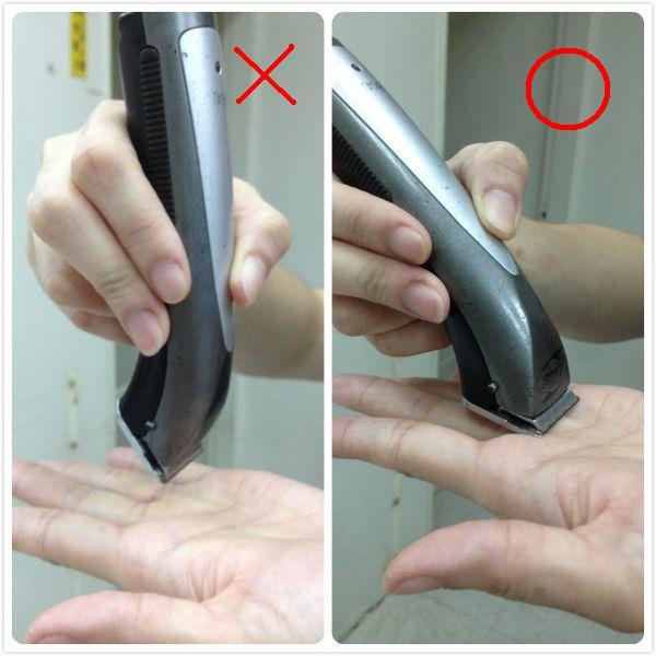 剃腳毛-003 下刀方式