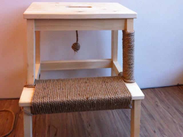 DIY自製貓抓板城堡
