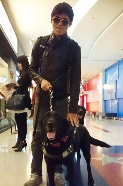 妮妮生日,文昇與妮妮