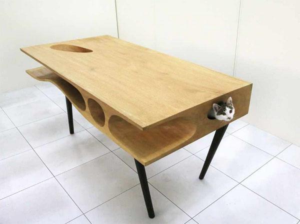 創意貓桌1