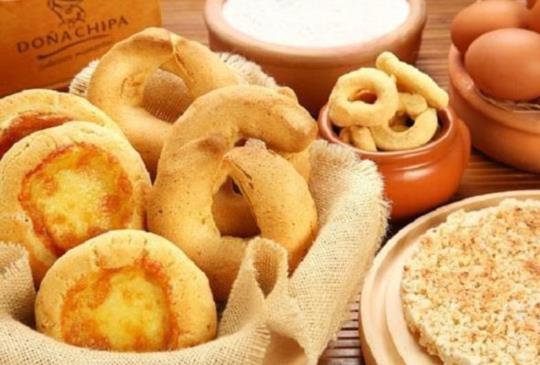 【南美洲 - 巴拉圭】 巴國人手一個的國民小吃:奇巴
