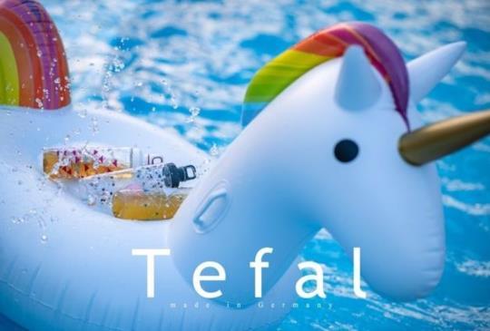 【法國特福Tefal運動水壺】Drink2Go,夏天必備,兼具環保及時尚美於一身的輕便水壺。