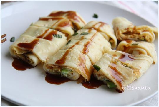 「 早餐」好吃好吃! 中式蛋餅