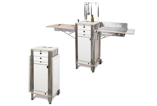摺疊設計 :移動式廚房