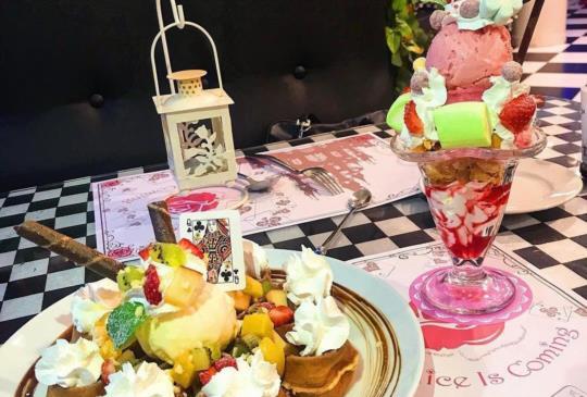 ☆小璦推薦的IG打卡熱點★ 愛麗絲夢遊仙境-女孩的夢幻下午茶