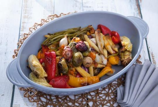 低醣料理 {沙拉} 香料烤時蔬