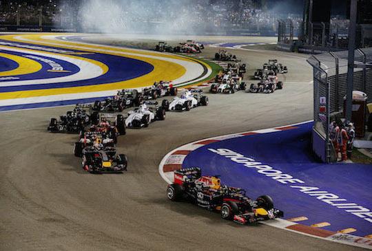 跟著F1夜間賽4大亮點秋遊新加坡