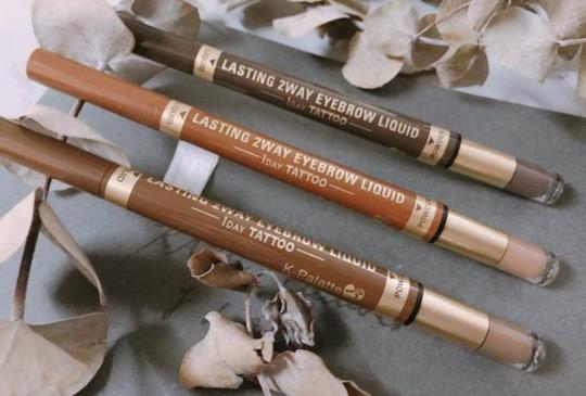 彩妝師必敗好物推薦:K-palette Tatoo 24H完美持久2用眉筆