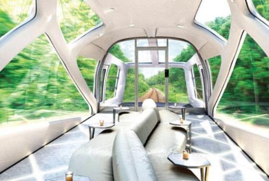 【此生必坐的豪華臥舖列車,坐在透明展望車廂來趟頂級之旅吧!】