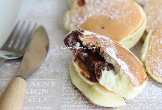 『早餐』 巧克力爆漿鬆餅 (影音食譜)