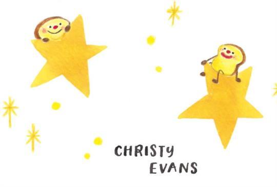 【好朋友就像星星。你不一定總是能見到他們,但是你知道,他們一直會在!】