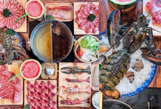 (桃園)中壢cp值超高的福叄鍋物!龍蝦、帝王蟹、和牛料理超吸睛!
