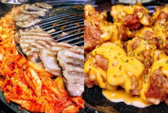 (台北)在Woosan韓式烤肉店還可以吃到越式水春捲?奇妙組合成店家特色!起司沾肉也超讚啊!