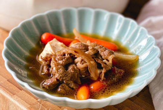 好味料理 <牛肉> 牛肉壽喜燒