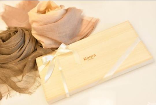 日本職人最細緻堅持 頂級絲巾品牌 Koma aoyama