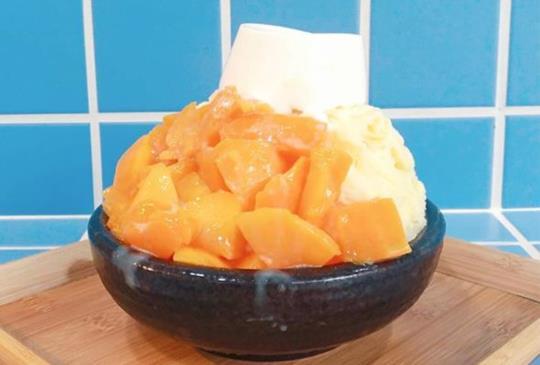【夏天就是芒】全台10家特色必吃「芒果冰」 富士山芒果冰山真是透心涼