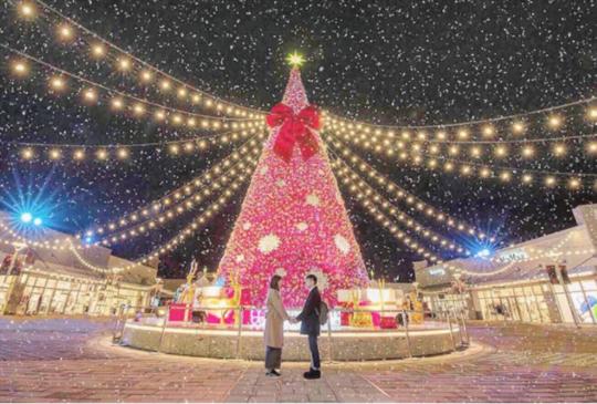 【夢幻到炸!熱搜「北部必拍5大聖誕裝置」:本年度最強是這裡,想看白雪紛飛有時間限定啊!】