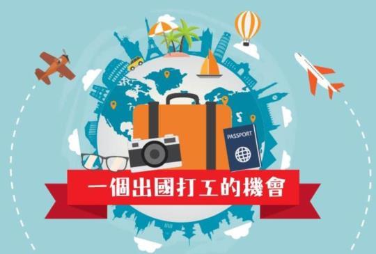 給自己一個機會!出國打工學英文!