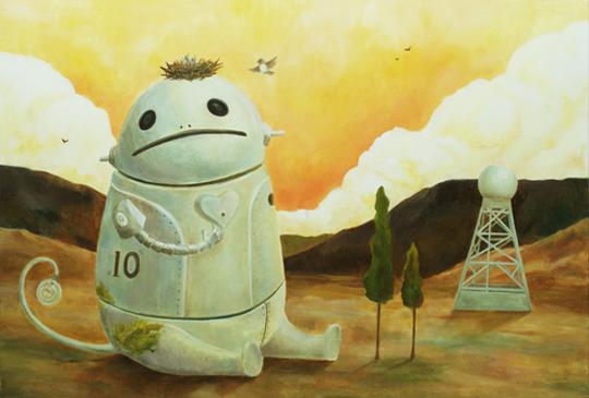 繪本故事 機器人的溫柔