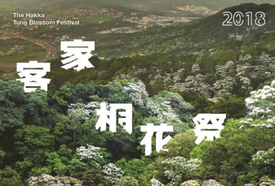 新竹市客家桐花祭 ─ 漫遊桐花小旅行的活動登場