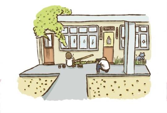 【香港女生徒步環島第40天,彩繪壁畫留存眷村文化】