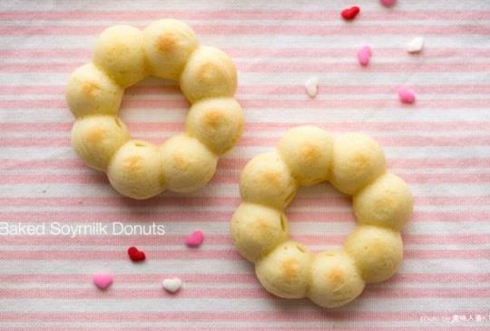 低卡烤箱幼兒點心 – 豆乳波提甜甜圈