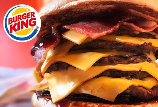 【BurgerKing 漢堡王】2月漢堡王優惠券、折價券、coupon