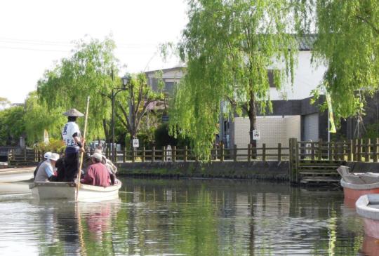 【日本】柳川泛舟聽船歌,九州水都秋遊樂趣!