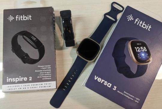 內建 GPS 智慧手錶 Fitbit Versa 3 開箱體驗,同場加映智慧手環 Inspire 2