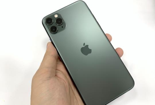 iPhone 11 Pro Max 夜幕綠上市首日快速開箱