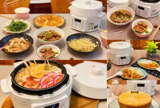 讓做菜變成ㄧ件輕鬆自在的事~日本IRIS電子壓力鍋