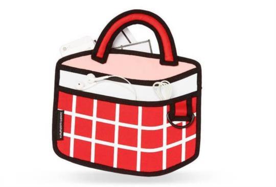 JumpFromPaper春夏新品 拿2D包去野餐才是正經事