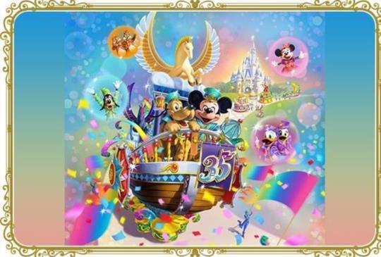 【東京迪士尼35週年特輯】必去!週年慶設施、活動、商品心動大公開