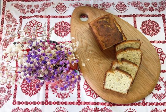 低醣料理 <烘焙> 低醣無糖香蕉麵包