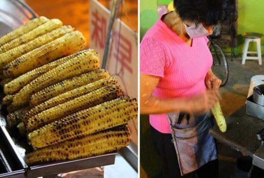 【跟著肉魯 玩樂台南】賣了50幾年 青年路古早味碳烤玉米