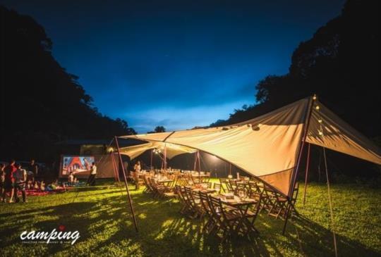 【新竹飛鳥恰恰】爽出新高度的新型態頂規豪華露營