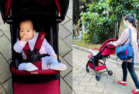 【2021嬰兒推車推薦】新手爸媽的推車五大功能!Combi Aurastar 讓你的嬰兒推車變聰明