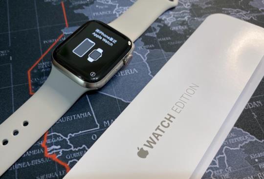 美國版 Apple Watch Series 5 Edition 44mm 鈦金屬錶殼開箱