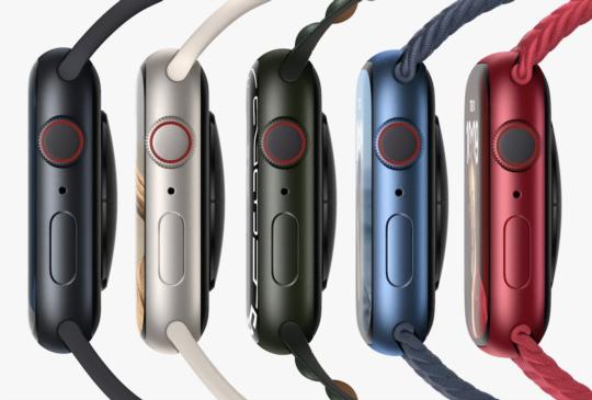 【Apple 九月發表會】螢幕更大、錶帶通用,Apple Watch Series 7 發表