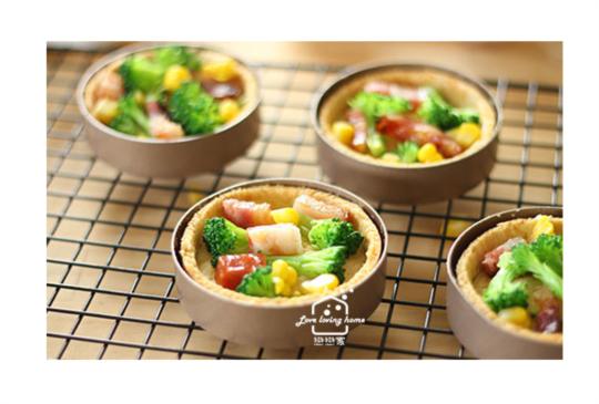培根蔬菜鹹派