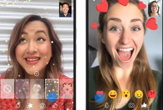 Facebook Messenger 推出視訊聊天新功能,讓用戶進行視訊時享受更多的樂趣