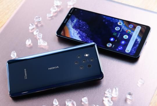 全球首款五鏡頭手機 Nokia 9 PureView 正式面世