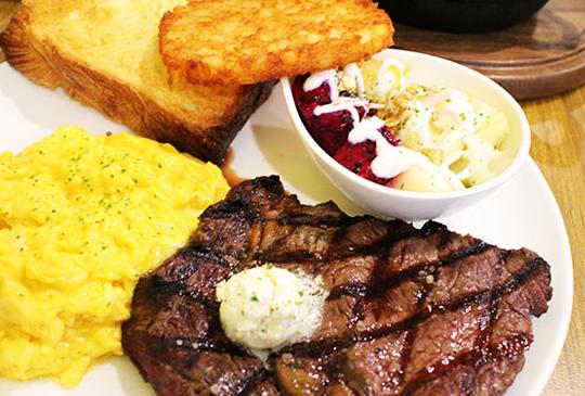 『the Chips美式餐廳』品嚐道地經典美式原味餐廳~厚片牛排早午餐