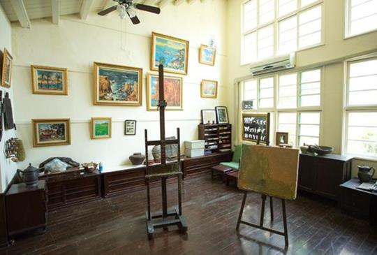 楊三朗美術館-玻璃屋咖啡廳