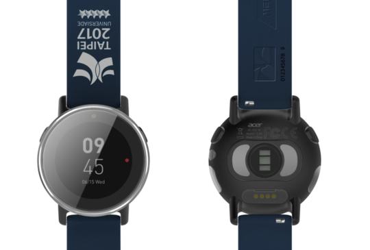 ACER 2017 台北世大運聯名款智慧型手錶 Leap Ware 限量開賣