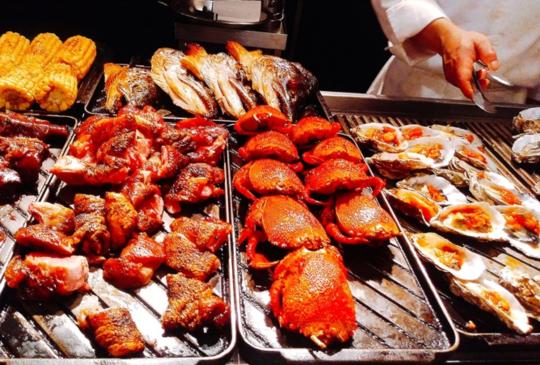 美食天堂必吃─Regent Taipei 台北晶華酒店栢麗廳 Brasseri│吃到飽生蠔海鮮